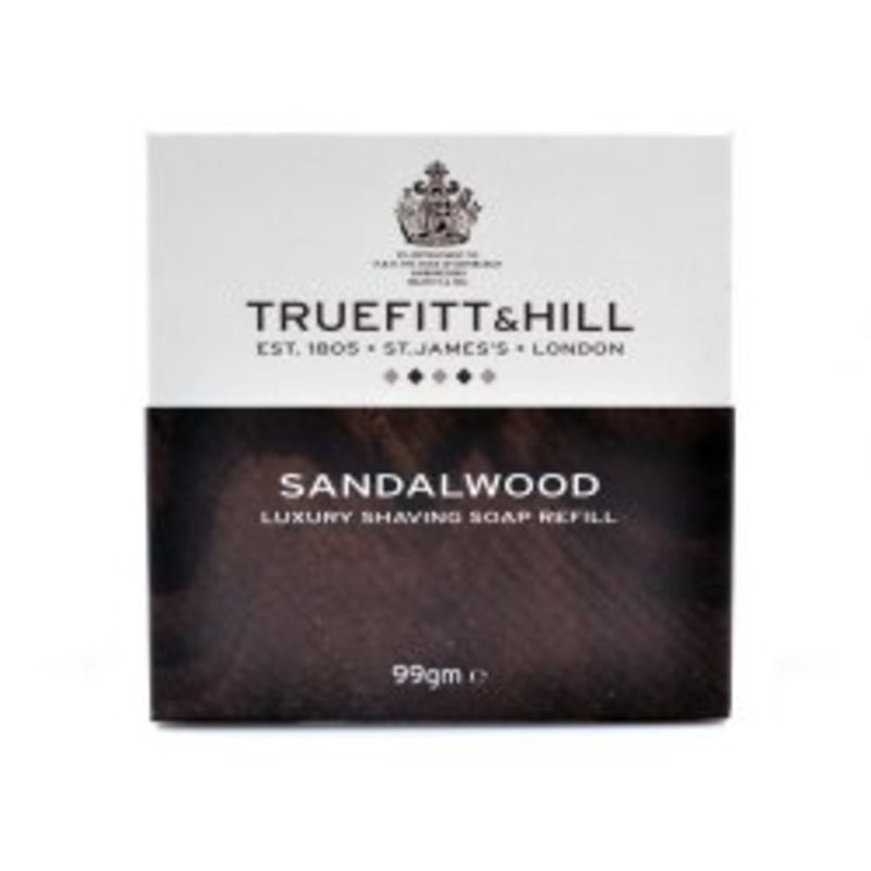 Truefitt & Hill Sandalwood Luxury Shaving Soap Refill