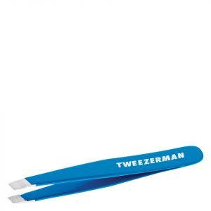 Tweezerman Mini Slant Tweezer Blue Bahama