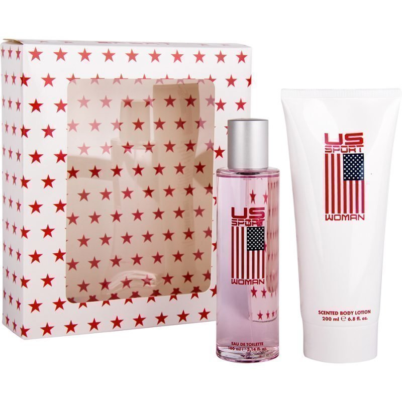US Sport US Sport Women Giftset EdT 100ml Body Lotion 200ml