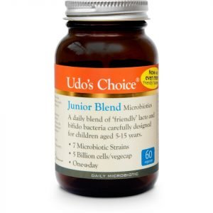 Udo's Choice Junior Blend Microbiotics 60 Vegecaps