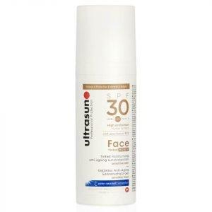 Ultrasun 30 Spf Tinted Face Cream 50 Ml
