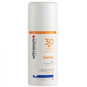 Ultrasun Spf 30 Family Sun Lotion 100 Ml