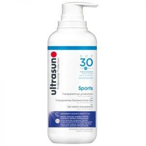 Ultrasun Transparent Sun Protection Sports Gel Spf30 400 Ml