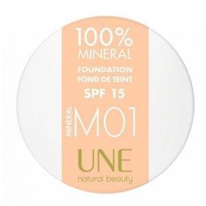 Une 100% Minerals Foundation 4