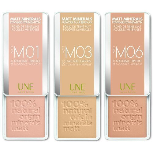 Une Matt Minerals Powder Foundation M08