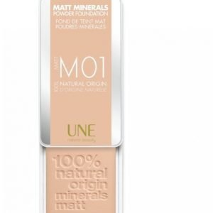 Une Matta Minerals Powder Foundation 7