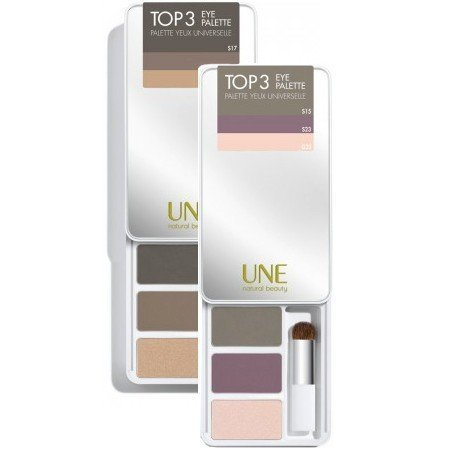 Une Top 3 Eye Palette P09 Denim Collection