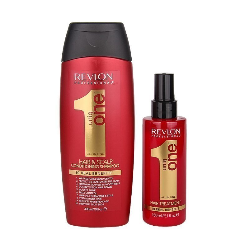 Uniq One All In One Duo Hair Treatment 150ml Conditioning & Shampoo 300ml