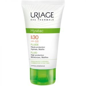 Uriage Hyséac High Protection Emulsion For Combination To Oily Skin Spf30 50 Ml