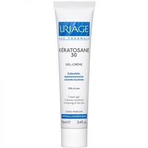 Uriage Kératosane Keratolytic Emulsion 30% Urea Treatment 75 Ml
