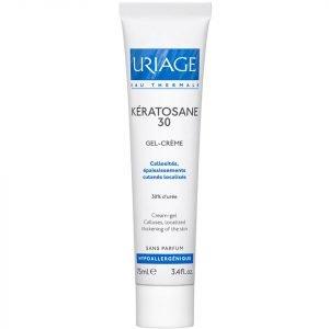 Uriage Kératosane Keratolytic Emulsion 30% Urea Treatment 75 Ml
