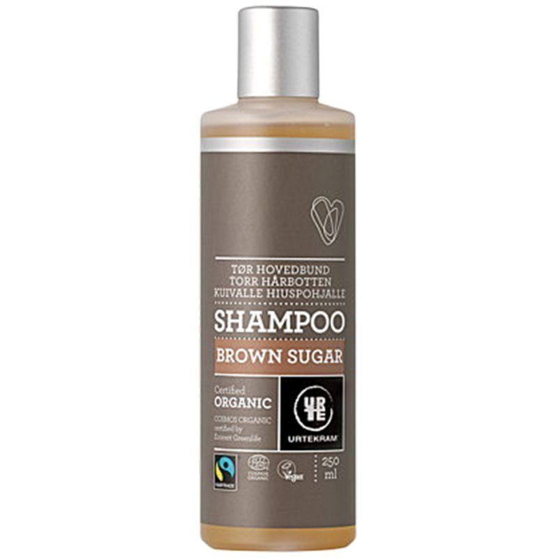 Urtekram Brown Sugar Shampoo (Dry Scalp) 250ml