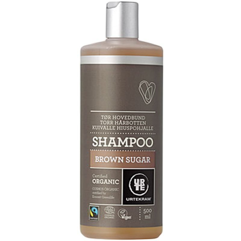 Urtekram Brown Sugar Shampoo (Dry Scalp) 500ml