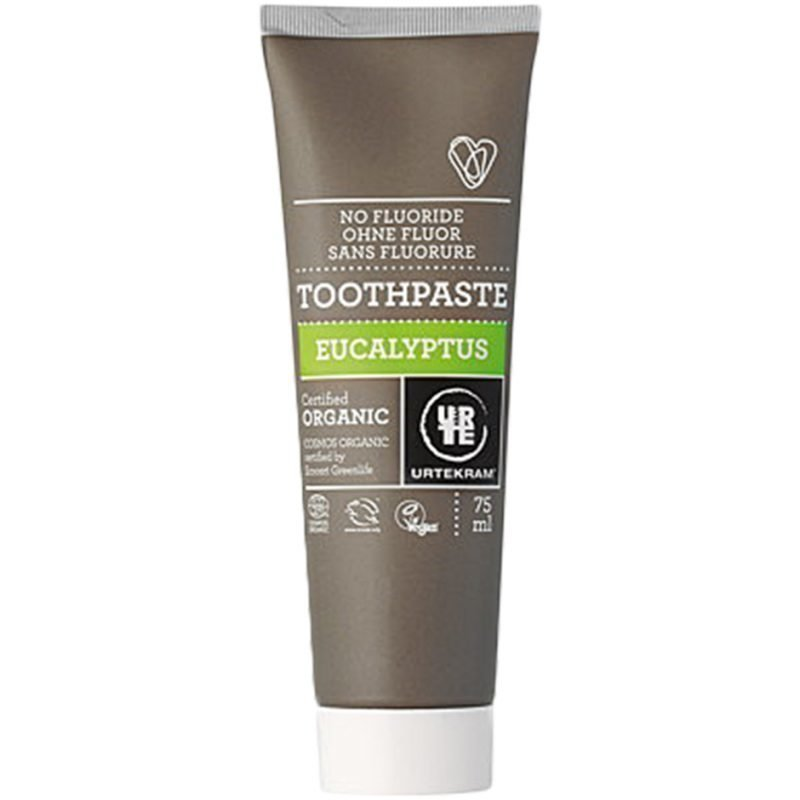 Urtekram Eucalyptus Toothpaste With No Fluoride 75ml