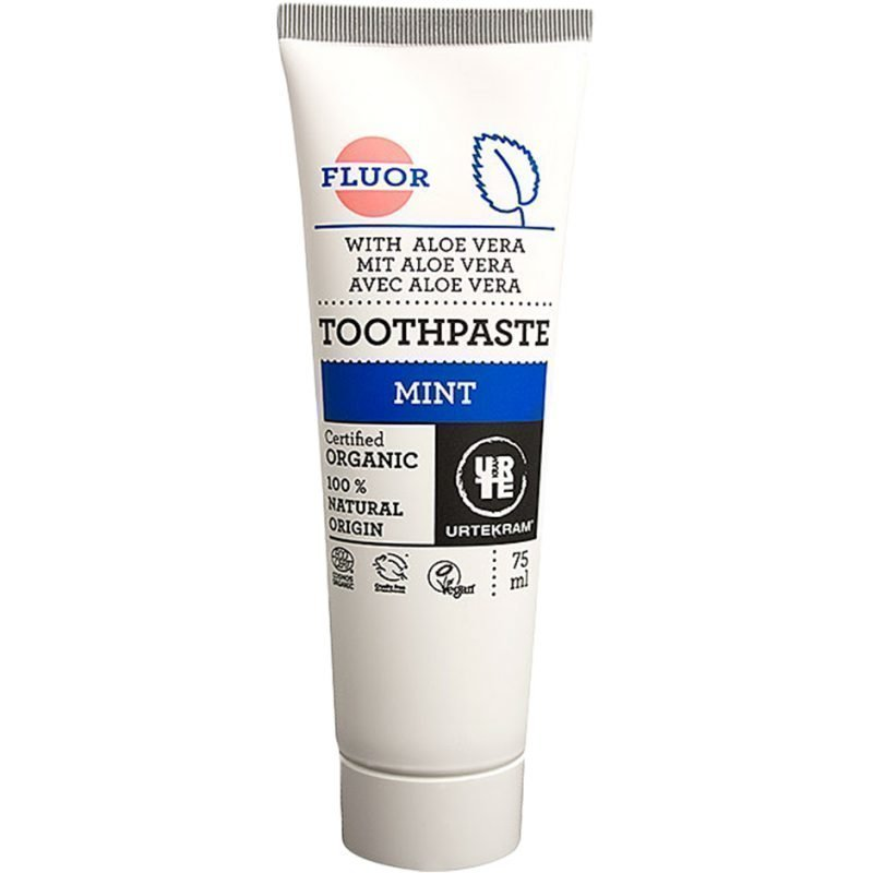 Urtekram Mint Toothpaste With Fluoride 75ml
