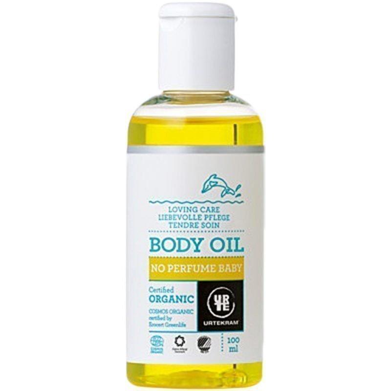 Urtekram No Perfume Baby Body Oil 100ml