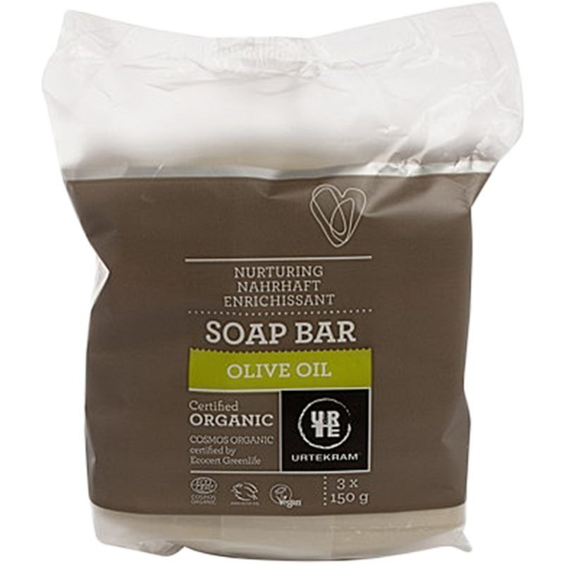 Urtekram Olive Oil Soap Bar 450g