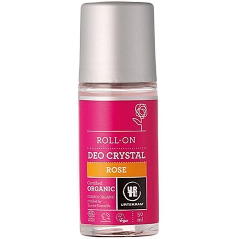 Urtekram Rose Deo Crystal 50ml