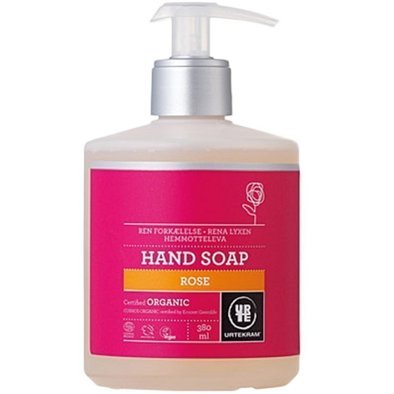 Urtekram Rose Hand Soap 380ml