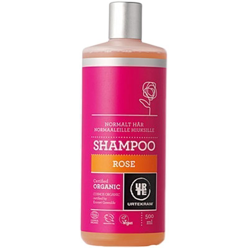 Urtekram Rose Shampoo (Normal Hair) 500ml