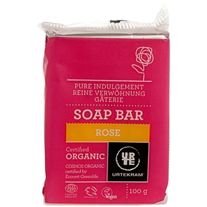Urtekram Rose Soap Bar 100g