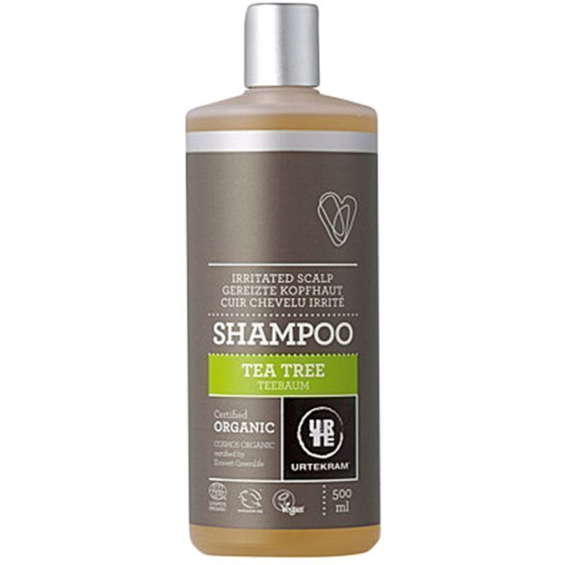 Urtekram Tea Tree Shampoo (Irritated Scalp) 500ml