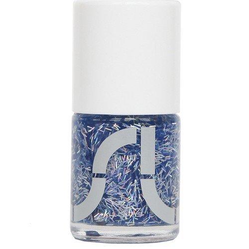 Uslu Airlines Nail Polish Ambilobe Hologram Blue Silver