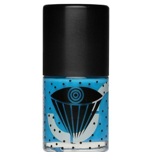Uslu Airlines Nail Polish Collab Black Top Trujillo True Blue
