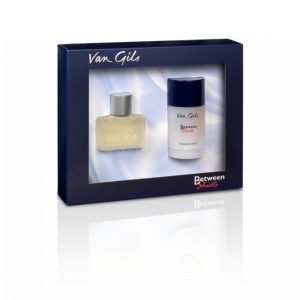 Van Gils Between Sheets Lahjapakkaus: Edt 30 Ml + Deo Stick 75 Ml