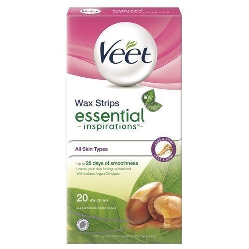 Veet Essential Inspiration Strips Legs & Body