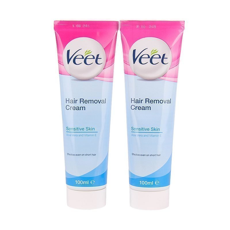 Veet Hair Removal Cream Duo 2 x Hair Removal Cream