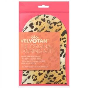 Velvotan Self Tan Applicator Original Body Mitt Leopard