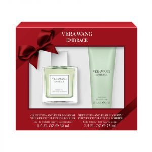 Vera Wang Embrace Green Tea And Pear 30 Ml Eau De Toilette And 75 Ml Body Lotion
