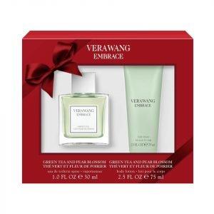 Vera Wang Embrace Green Tea And Pear 30 Ml Eau De Toilette And 75 Ml Body Lotion