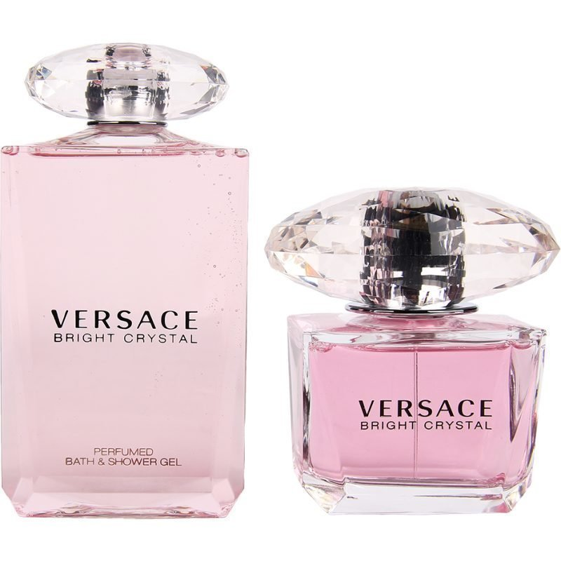 Versace Bright Crystal Duo EdT 90ml Shower Gel 200ml