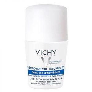Vichy Deodorant 24hour Aluminium Salt-Free Roll-On 50 Ml