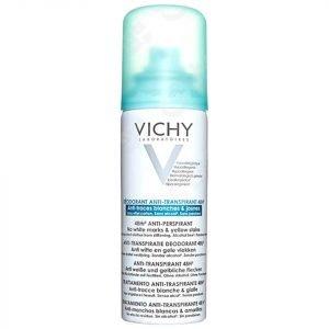 Vichy Deodorant 48hour Aerosol 'No Marks' Anti-Perspirant 125 Ml