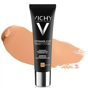 Vichy Dermablend 3d Correction Foundation 30 Ml Bronze 55