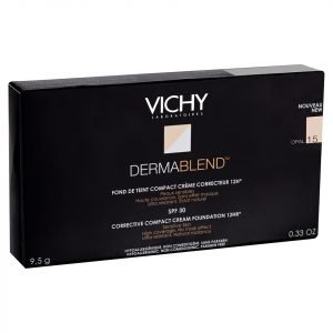 Vichy Dermablend Corrective Compact Cream Foundation 10g Various Shades Opal 15