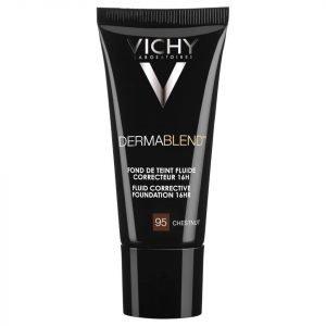 Vichy Dermablend Fluid Corrective Foundation 30 Ml Various Shades Chestnut 95