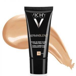 Vichy Dermablend Fluid Corrective Foundation 30 Ml Various Shades Opal 15