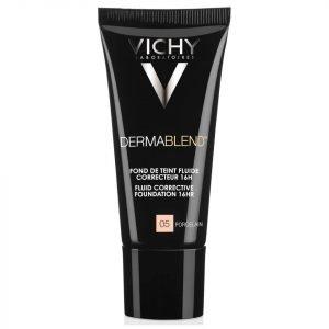 Vichy Dermablend Fluid Corrective Foundation 30 Ml Various Shades Porcelain 05