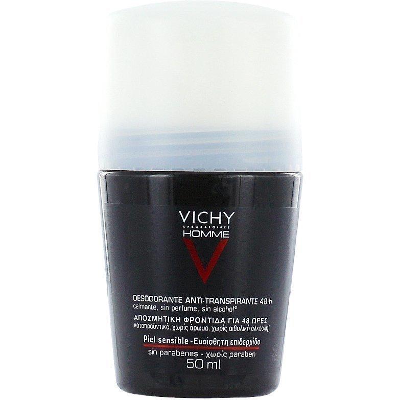 Vichy Homme Deodorant Antiperspirant Roll-On Sensetive SkinOn Sensetive Skin 50ml