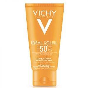 Vichy Idéal Soleil Velvety Cream Spf 50+ 50 Ml