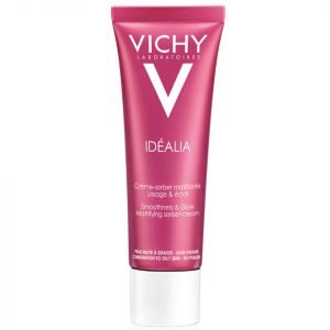 Vichy Idéalia Smoothness & Glow Mattifying Sorbet Cream 50 Ml