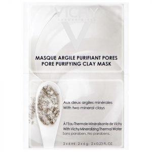 Vichy Pore Purifying Clay Mask Duo Sachet 2 X 6 Ml