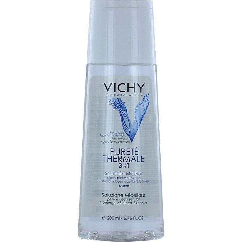 Vichy Pureté Thermale 3 In 1 Calming Cleansing Micellar Solution All Skintypes 200ml