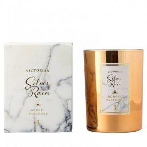 Victorian Candles Marble Silver Rain Tuoksukynttilä Silver Rain