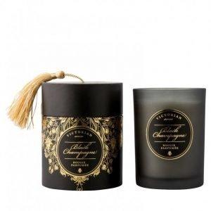 Victorian Candles Sense Tasslebox Black Champange Tuoksukynttilä Black Champagne