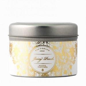 Victorian Candles Sense Tinbox Tuoksukynttilä Juicy Peach